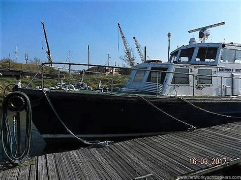 boats for sale queenborough survey harbour launch 1963 yacht boat for sale in