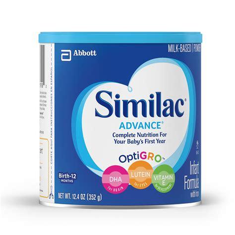 Similac Advance similac advance infant formula with iron powder 12 ounce