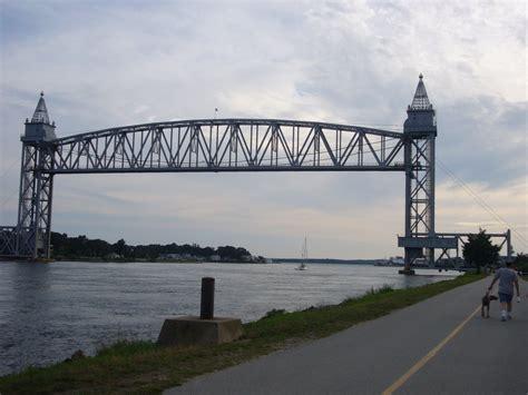 cape cod canal bridge panoramio photo of cape cod canal railroad bridge aug 2008