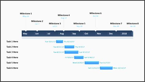 9 Printable Project Plan Powerpoint Sletemplatess Sletemplatess High Level Presentation Template