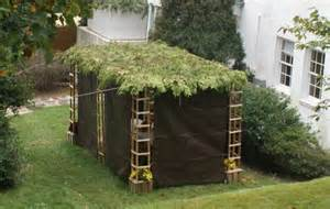 The bible instruction just says build a sukkah or booth