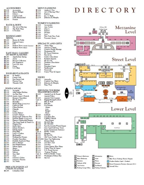 union station dc floor plan union station directory gallaudet university