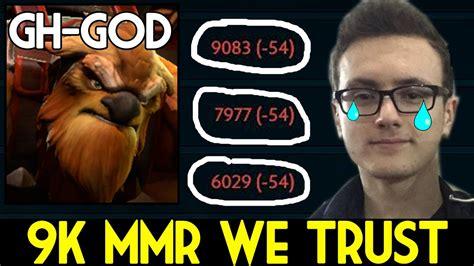 Dota 2 In Dota We Trust miracle slark 9k mmr we trust 54 mmr 7 06 dota 2