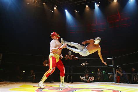 la lucha de jan mexican wrestlers lucha libre prepare for london shows 1 of 9 zimbio
