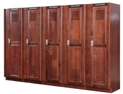 Colors For Front Doors by Coach Lockers Wood Coach S Lockers For Athletic Locker