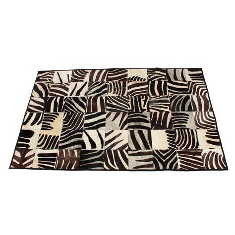 faux zebra rugs faux zebra print cow rug