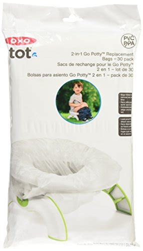Promo Oxo Tot 2 In 1 Go Potty oxo tot 2 in 1 go potty refill bags 30 count import it all