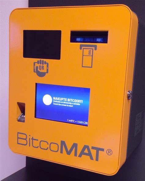 bitcoin machine bitcoin atm in pilsen science and technology park pilsen