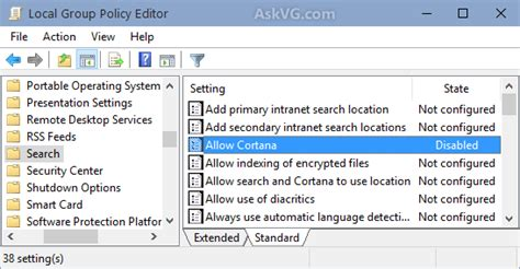 windows 10 tip how to turn off bing web search in start tip disable cortana and bing search results in windows