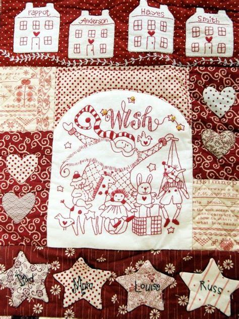 Stitchery Quilts by Free Patchwork And Stitchery Patterns By Brolly All