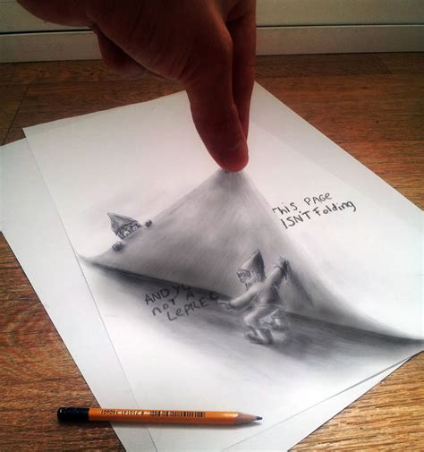 Sketches 3d by 33 Of The Best 3d Pencil Drawings Bored Panda