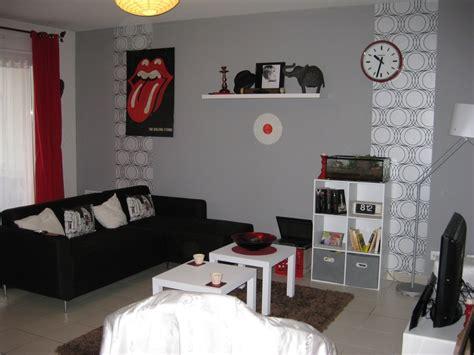 Supérieur Decoration Salon Moderne Blanc #3: idees-deco-salon-idee-deco-mur-salon.jpg