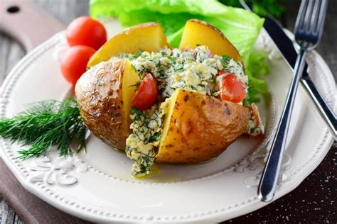 Potato And Cottage Cheese by Tasty Cottage Cheese And Herb Stuffed Baked Potatoes 12