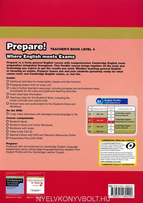 cambridge english prepare level 6 teachers book pdf cambridge english prepare teacher s book level 4 with dvd teacher s resource online