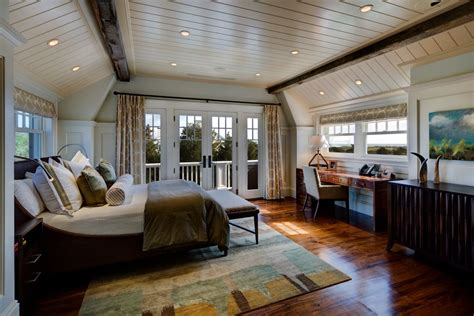 cottage master bedroom ideas cottage master bedroom with carpet exposed beam zillow