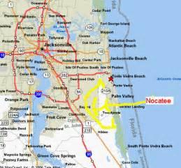 florida map beaches