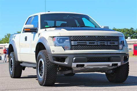 2013 Ford Raptor by 2013 Ford F 150 Svt Raptor Goes Beige Brilliantly Autoblog