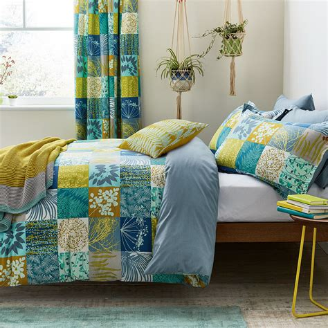 Patchwork Duvets - buy clarissa hulse mini patchwork duvet set aqua