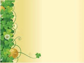 green flower ivy spring ppt backgrounds flowers nature