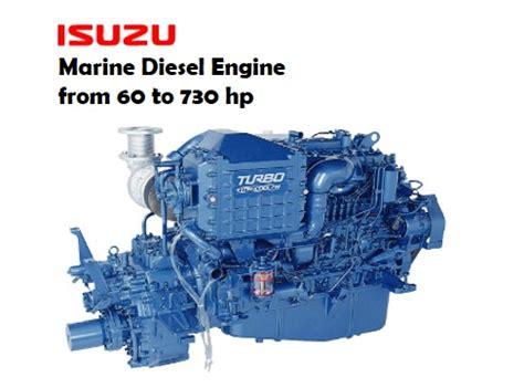 isuzu marine diesel engine from 60hp 730hp manufacturer
