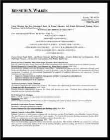management job resume objectives - Resume Objectives For Management Positions