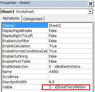 vba remove password from worksheet excel hide worksheet vba how to hide a sheet in excel