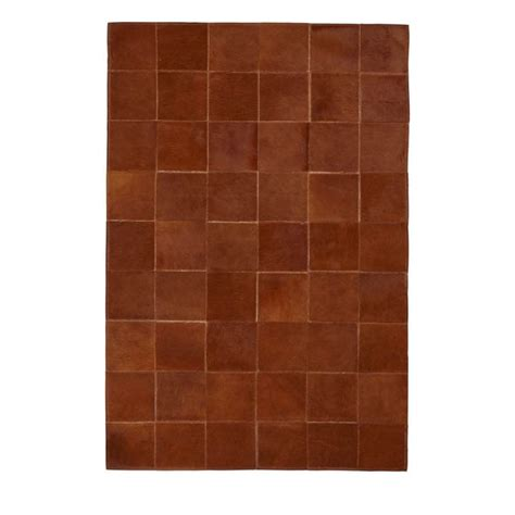 Cow Patchwork Rug - brown cow patchwork rug furnish every season