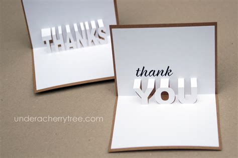 pop up thank you cards template free downloads jin s pop up thank you cards a