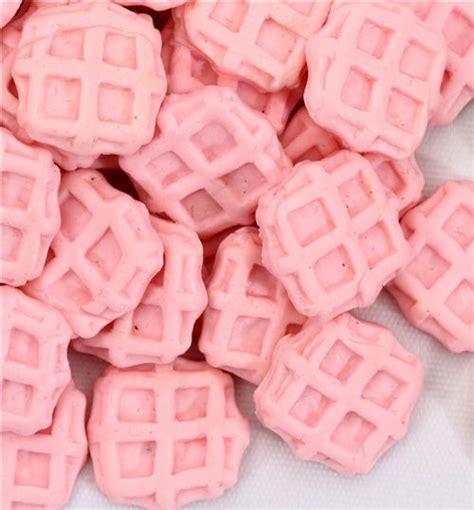Miniatur Wafel pink miniature waffles deco decotti 5pcs miniature items