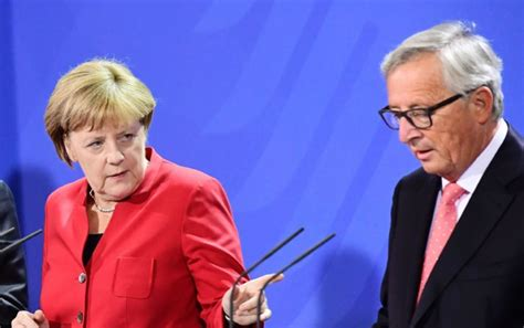 Anger In Spain At Migrant Models by Merkel Angry With Juncker S Brexit Antics Politico