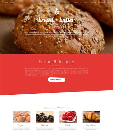 bootstrap themes restaurant free download 21 restaurant bootstrap themes templates free