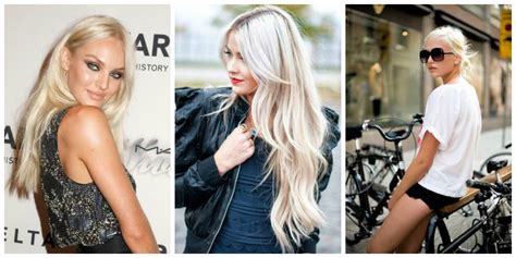 what is right for me platinum hair is it the new hair trend the fashion tag