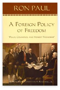 foreign affairs a novel a foreign policy of freedom paul books