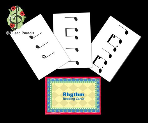 printable rhythm flash cards 17 best images about elementary music on pinterest