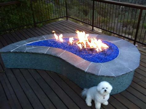 diy pit with glass rocks 9 ideas that ll convince you to add a pit to your backyard huffpost