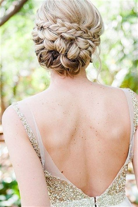 25  best ideas about Thick hair updo on Pinterest