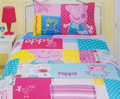 peppa pig bedroom sets peppa pig patch quilt cover set patch quilt bedroom
