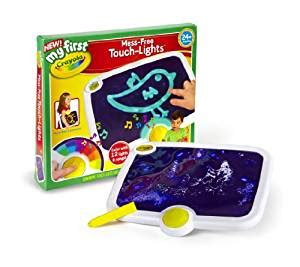 amazon com crayola my first touch lights toys games