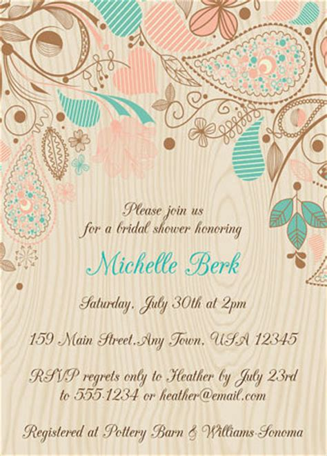 Bridal Shower Invites Cheap by 5 Trending Bridal Wedding Shower Color Ideas To