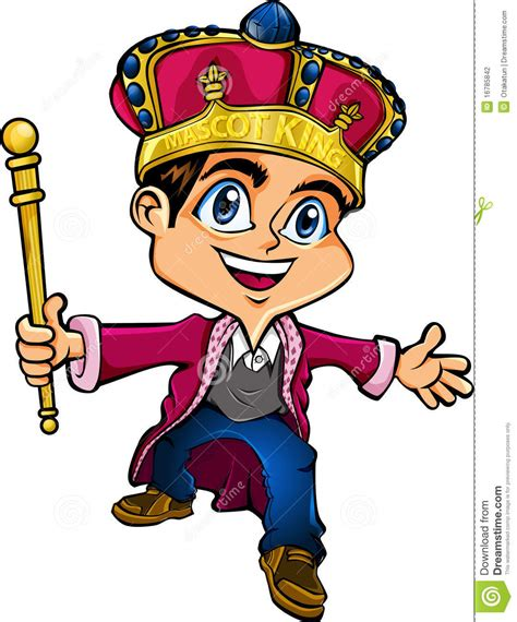Of A King mascot king stock illustration illustration of royal