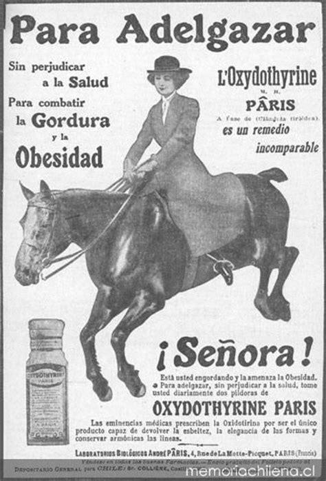 Aviso publicitario de píldoras para adelgazar, 1926