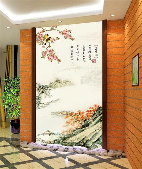 tapisserie tag tapisserie paysage asiatique sur mesure papier peint