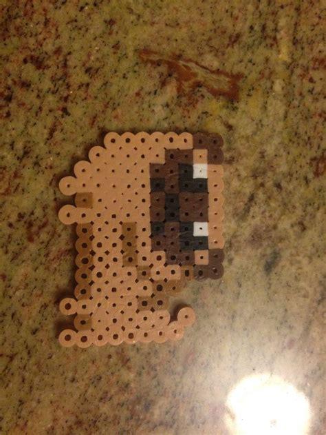 pug perler pug made from perler i did it myself