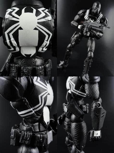 custom flash thompson venom  marvel legends action