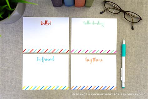 pinterest free printable note cards free printable note cards