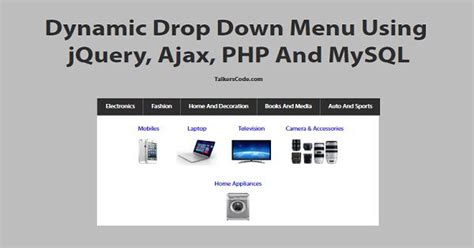 dynamic menu layout cshtml jquery drop down menu select option nipssing university