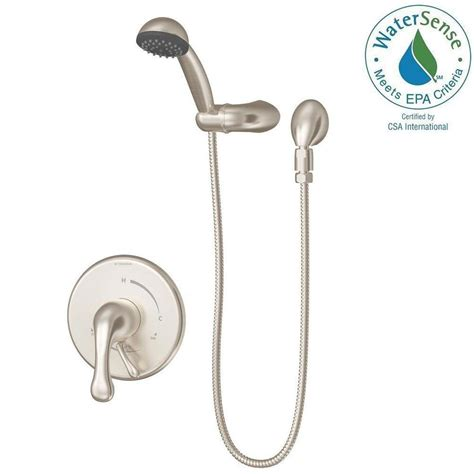 symmons kitchen faucets symmons unity kitchen faucet satin nickel
