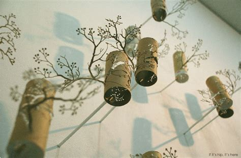 toilet paper artists with artist yuken teruya trees come from paper not the