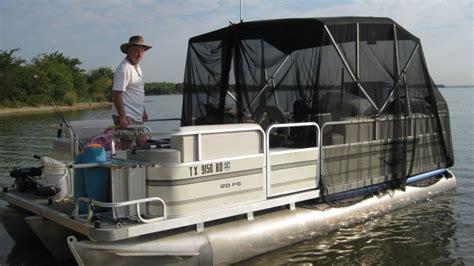 pontoon tent 53 pontoon tent sunbrella canvas enclosure boat cover