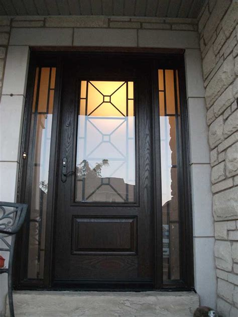 single door exterior custom doors front entry doors toronto